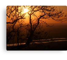 Romney Marsh Sunset Canvas Print
