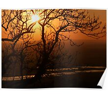 Romney Marsh Sunset Poster