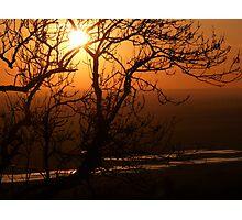 Romney Marsh Sunset Photographic Print