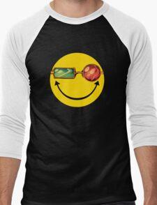 Transmetro trippy - Comic mashup Men's Baseball ¾ T-Shirt