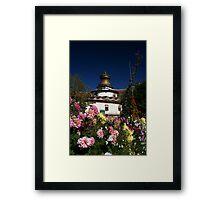 Kumbum Stupa Framed Print