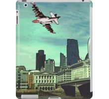 The reds are taking over the city! iPad Case/Skin