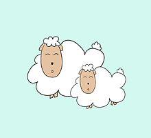 mommy and me: sheep by andreacomenta