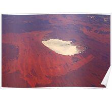 Salt Lake - Central Western Australia Poster