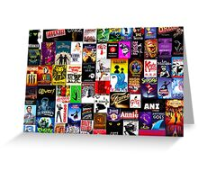 Musicals!!! Greeting Card