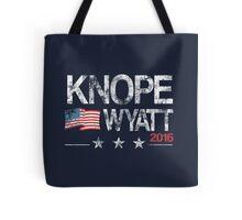 Knope Wyatt Distressed  Tote Bag