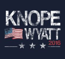 Knope Wyatt Distressed  T-Shirt