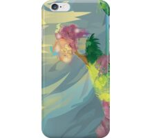 Japanese Landscape Illustration iPhone Case/Skin