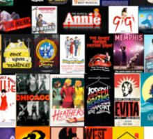 MUSICALS!!! (2) Sticker