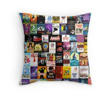 MUSICALS!!! (2) Throw Pillow
