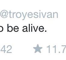 troye sivan tweet by youtuber-club
