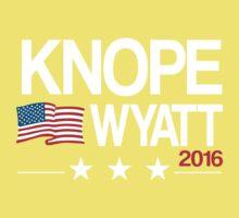 Knope Wyatt 2016 Baby Tee