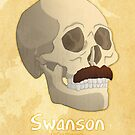 Famous Facial Hair: The Swanson by hpkomic