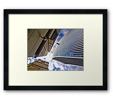 Move over, I haven't got much room here! Framed Print