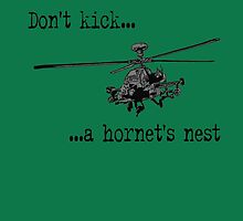 Don't kick a hornet's nest! by Tim Constable