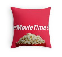 #MovieTime! Throw Pillow