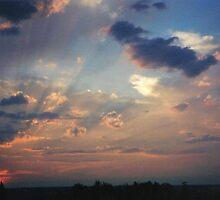 Sunset in Salamanca, Spain by Jonathan Spector