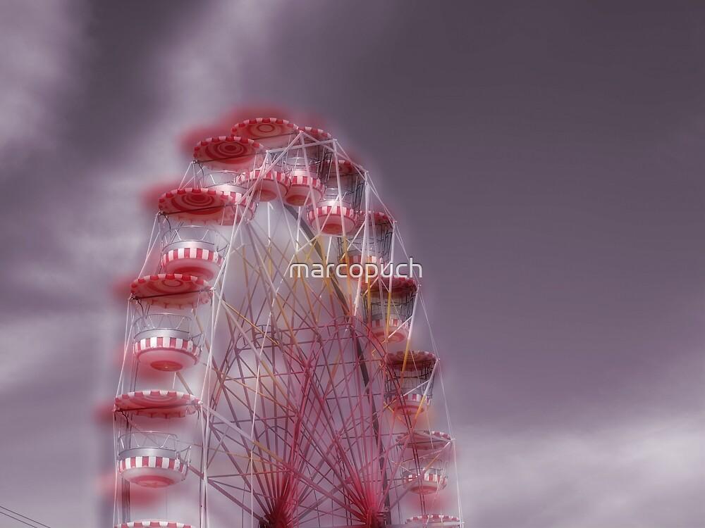 Ferris wheel in the Luna Park by marcopuch