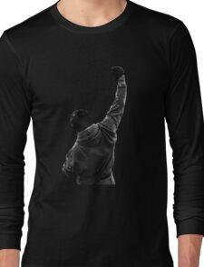 Never give UP! Rocky Balboa Long Sleeve T-Shirt
