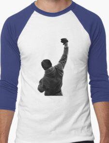 Never give UP! Rocky Balboa Men's Baseball ¾ T-Shirt