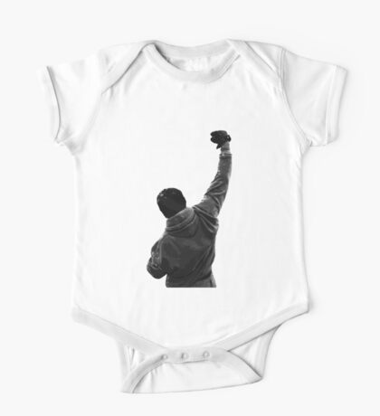 Never give UP! Rocky Balboa One Piece - Short Sleeve