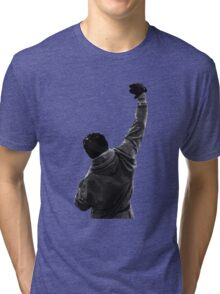 Never give UP! Rocky Balboa Tri-blend T-Shirt