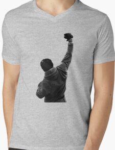 Never give UP! Rocky Balboa Mens V-Neck T-Shirt