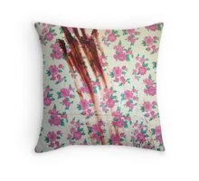 Domestic Abuse Throw Pillow