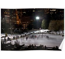 Wollman Skating Rink, Central Park, NYC II Poster