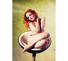 With Hair of Burnished Copper II Photographic Print
