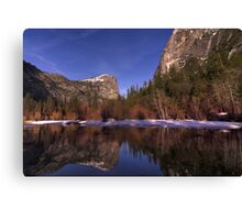 Mirror Lake Reflections Canvas Print