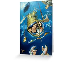 Aquaria Rising Greeting Card