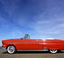 Red Classic Car by snehit