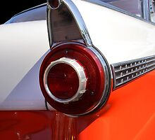 Tail Lamp Of A Classic Car by snehit