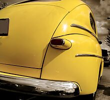 Yellow Classic Car by snehit