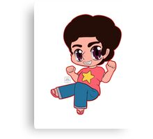 The Crystal Chibi Steven Canvas Print