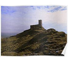 Dartmoor: Brentor Church Poster