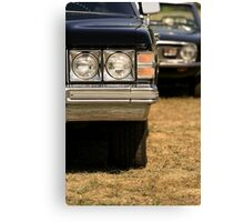 Agressive looking classic cars Canvas Print