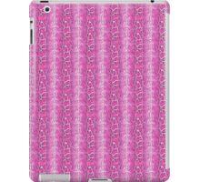 Hot Pink Snakeskin Pattern iPad Case/Skin