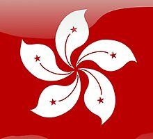 Hong Kong Flag, Icon by tshirtdesign