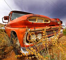 Old abandoned car by snehit