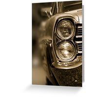Classic car Greeting Card