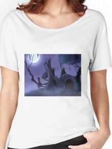 Everfree Ruins - art print Women's Relaxed Fit T-Shirt