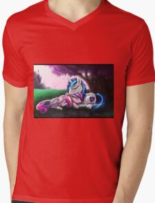 Cadence and Shining Armor - print/poster Mens V-Neck T-Shirt