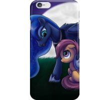 Sleepless - Luna and Scootaloo print/poster iPhone Case/Skin