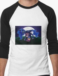 Sleepless - Luna and Scootaloo print/poster Men's Baseball ¾ T-Shirt