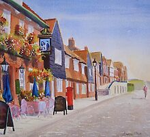 Summer around the harbour - Folkestone by Beatrice Cloake Pasquier