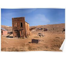 Bodie Ghost Town Poster