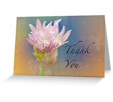 Winter Chive Thank You Card Greeting Card