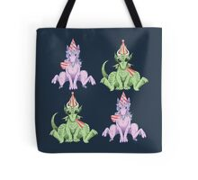 Party Hat Unicorns and Dragons Tote Bag